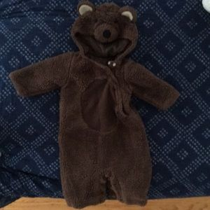 Adorable and warm bear costume